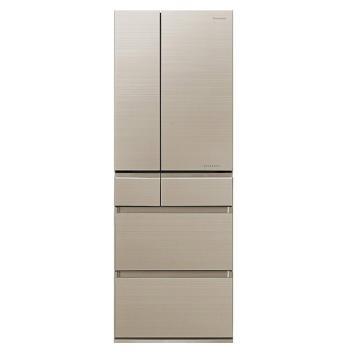 松下 595L六门冰箱,NR-F603HX-N5,日本原装进口,nanoeX健康科技,风冷无霜制冰WIFI