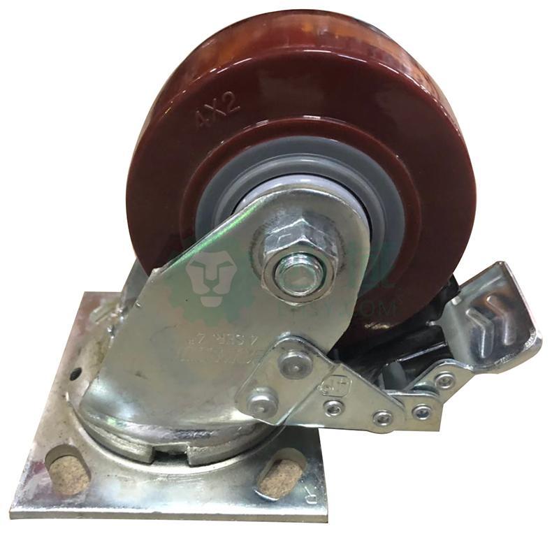 双钱载重_凯信 中型橡胶万向轮,最大载重(kg):70 轮宽(mm):32,轮径75mm 带 ...
