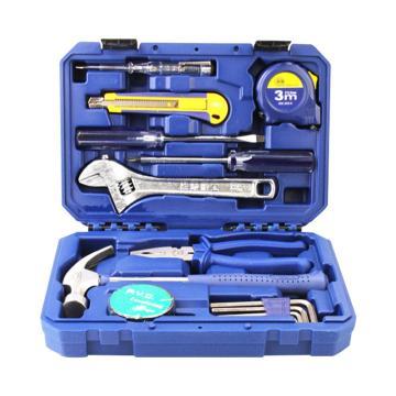 长城精工 15pcs家用组合工具,270*192*71mm,402015A
