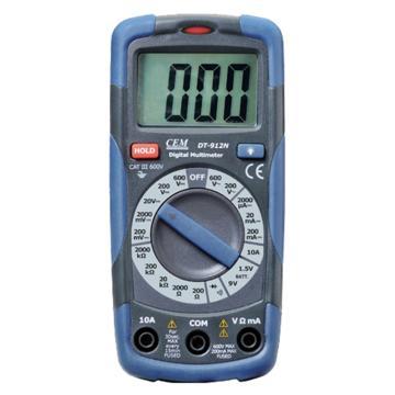 亚速旺/Asone 经济型数字万用表,DT-912N