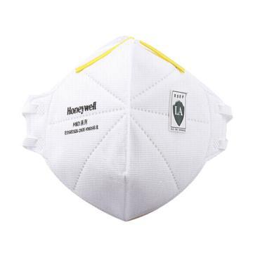霍尼韦尔Honeywell 防尘口罩,H1005591,H901 KN95 折叠式口罩 白色 耳带式,50 只/盒