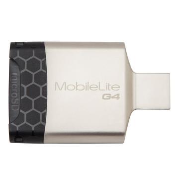 金士顿读卡器,USB3.0MobileLiteG4多功能读卡器(FCR-MLG4)