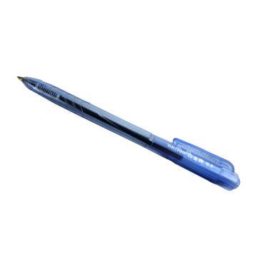 白金 按压型0.5圆珠笔,BK-100 蓝色,50支/盒 单位:盒(替代:ECU884)