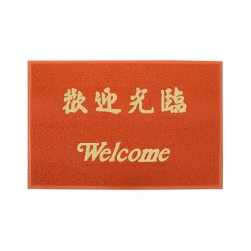 3M朗美 地垫,6050红色 120cm*180cm(欢迎光临) 单位:片