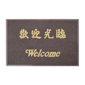 3M朗美 地垫,6050咖啡色 90cm*120cm(欢迎光临) 单位:片