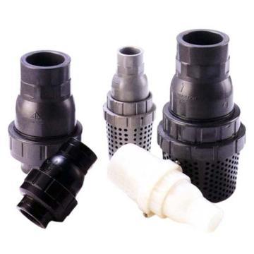 环琪 VP470型UPVC单由令球型终端逆止阀,承插式,密封FPM,2'',DN50,DIN标准