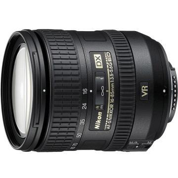 尼康标准变焦镜头,AF-S DX 16-85mm f/3.5-5.6G ED VR 防抖