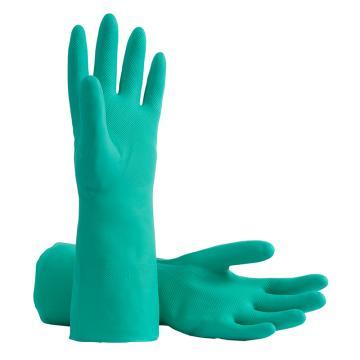 B&Z 丁腈防化手套,6201-7,绒里 长度33cm,12副/打