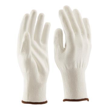 B&Z C级防割手套,6301-8,舒适款PU涂层白色耐切割