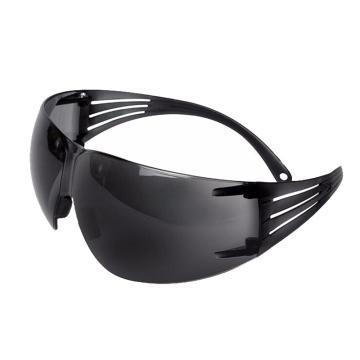 3M 中国款安全眼镜,灰色防刮擦镜片,SF302AS