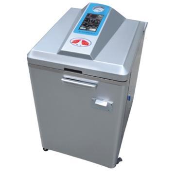 三申 立式压力蒸汽灭菌器,70L,220V 3kW触摸智能,YM75L(液晶显示)