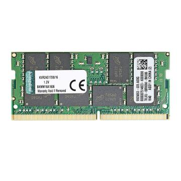 金士顿内存,KVR DDR4 2400 16G 笔记本内存