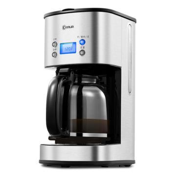 东菱咖啡机 CM-4216,全自动美式智能滴漏咖啡机办公家用 12杯大容量 24小时预约 智能保温