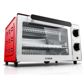 东菱电烤箱,TO-Q610家用10L迷你小烤箱 红色