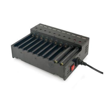 德普威DNP 电池充电架DCR17 60W AC220V 充电个数:10个,充电电压4.2V 电流1.5A,单位:个