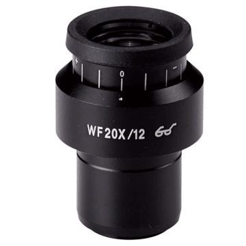 测维 20X 显微镜目镜,WF20X/12 加刻度