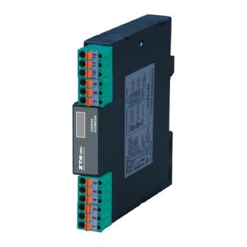 杭州中瑞 直流电流输入二线制隔离器(回路供电/二入二出),ZTM6721
