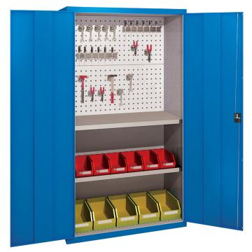 佰斯特 防静电承重型工具柜,(背板带方孔 不含挂钩/料盒)1000*400*1800 钢板厚(mm):1.0,C-14-10H
