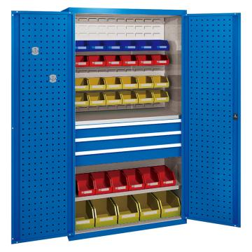佰斯特 防静电承重型工具柜,(不含料盒)1000*600*1800 钢板厚(mm):1.0 铝合金拉手,C-7-10H