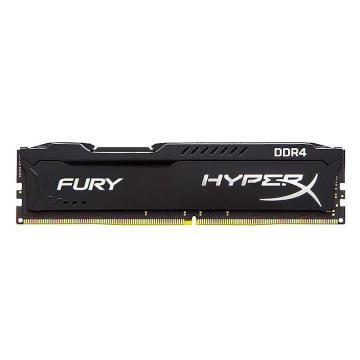 金士顿内存,Fury DDR4 2666 8G 台式机内存 黑色
