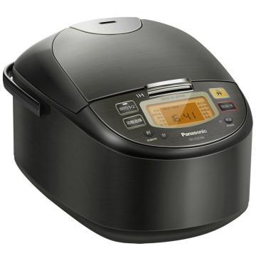 松下电饭锅,5升 SR-FCC188KSQ 智能IH电磁加热 黑色