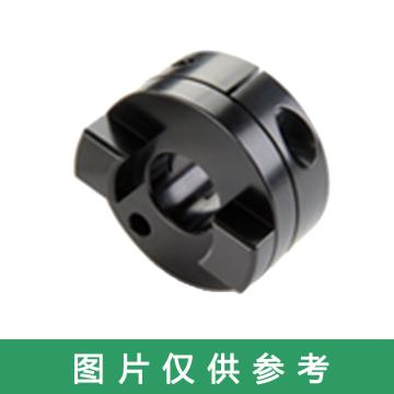 Ruland MOCT-十字滑块联轴器轮毂,夹紧式,公制,铝合金,MOCT19-5-A