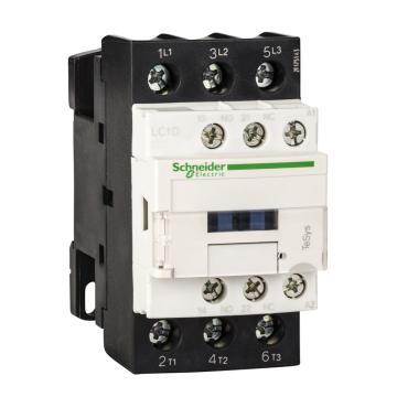 施耐德Schneider 直流线圈接触器,LC1D32BDC,32A,24V,三极