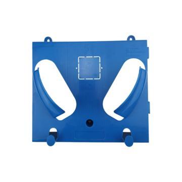 日月星 壁挂式安全帽架,蓝色,单个装, 可自由组合