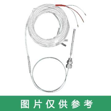 沈阳宇光 无保护管防水接线盒式全铠装铂热电阻,WZPK2-□3d(d为铠装直径)双支 Pt100