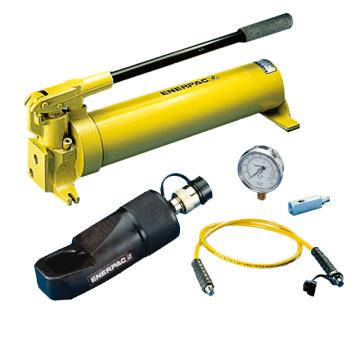 恩派克ENERPAC 液压螺母破切器套装,螺母范围50-60mm,NC-5060(含螺母破切器+泵+软管+表+表座)