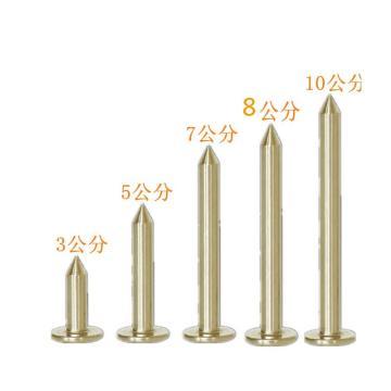 西域推荐 十字测钉,10cm(10个)