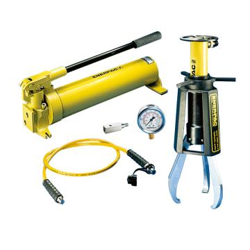恩派克ENERPAC 液压拔轮器套装,10ton,19-304mm,EPH-108(含拔轮器+泵+油缸+软管+表+表座)
