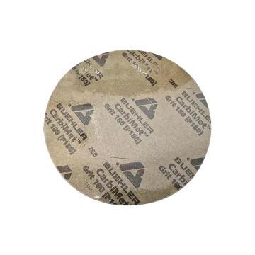 标乐8英寸带背胶金相砂纸, 36-08-0360, P600, 100片/包