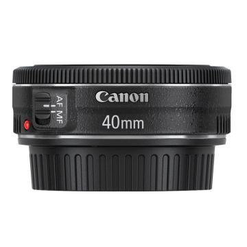 佳能Canon 数码单反镜头,标准定焦镜头 EF 40mm f/2.8 STM