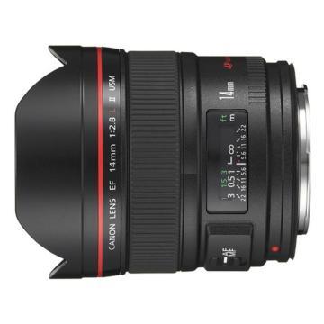 佳能Canon 数码单反镜头,广角定焦镜头 EF 14mm f/2.8L II USM
