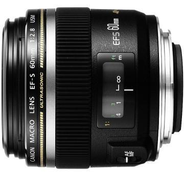佳能Canon 数码单反镜头,微距镜头 EF-S 60mm f/2.8 USM