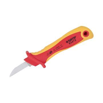 世达VDE电缆剥线刀,直刃式,93472