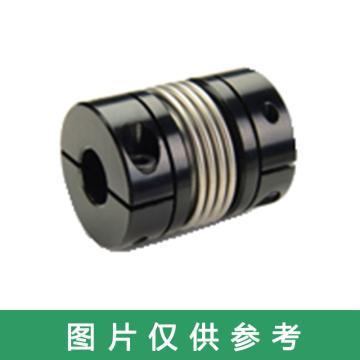 "Ruland BC-波纹管联轴器,夹紧式,一端英制一端公制,铝合金,BC10-1/4""-3MM-A"