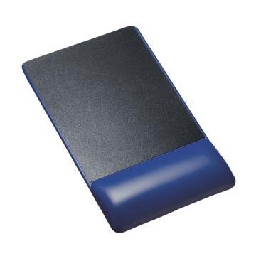 山业SANWA SUPPLY TPU鼠标垫 带腕托 加高款MPD-GELPHBL 1个