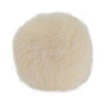 """3M羊毛抛光轮,3""""短毛背绒,85099"""