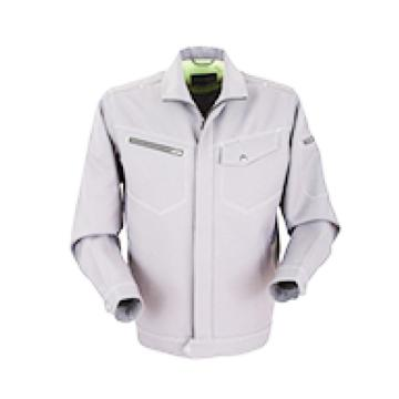 泰普士 94%涤6%棉,易干抗皱工作服,银灰色,PC19TOJ1801G-S