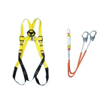 奎楼 全身式安全带套,Q-2D,Z-Y高空坠落悬挂 全身式双绳双大钩1.2米