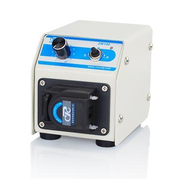 直流微流量蠕动泵 ,ZW100 六滚轮单通道 每通道0.4~21ml/min 0.75 15w,创锐