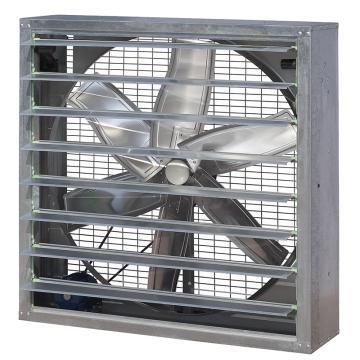 九洲普惠 JS方形负压风机(皮带传动式),JS-II-13C,1.1KW,380V,460rpm,风网+百叶窗