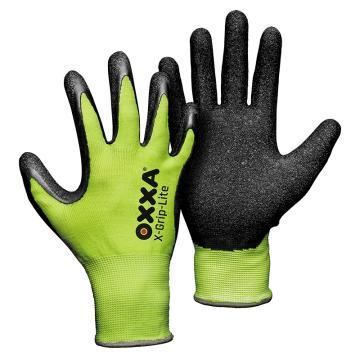 OXXA 乳胶涂层手套,51-025-8,13针尼龙材质,12副/打