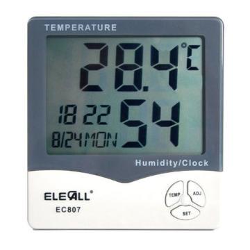 伊莱科 温湿度计,EC807