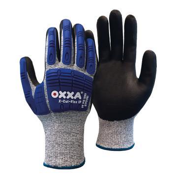 OXXA D级防割手套,51-705-9,13针HPPE材质 发泡丁腈涂层