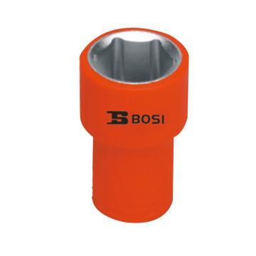 """波斯BOSI 1/4""""(6.35mm)系列VDE绝缘公制套筒,6mm,BS600139"""