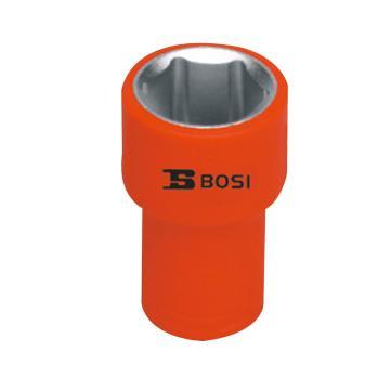 """波斯BOSI 1/2""""(12.5mm)系列VDE绝缘公制套筒,17mm,BS600126"""