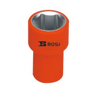 """波斯BOSI 3/8""""(10mm)系列VDE绝缘公制套筒,8mm,BS600108"""